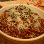 Weeknight Spaghetti and Meat Sauce Recipe